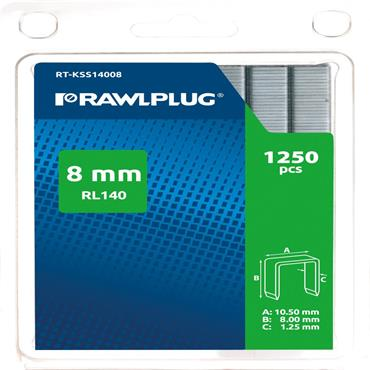 Rawlplug RL140 Staples Pack of 1000