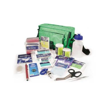 Reliance, Relisport Pursuits First Aid Kit in Green Strasbourg Bag