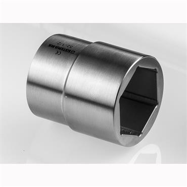 "Stainless Steel 1/2"" Socket"