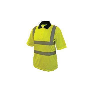 High Visibility Yellow Polo Shirt