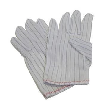 ESD Gloves Polyester Woven with Conductive Yarn