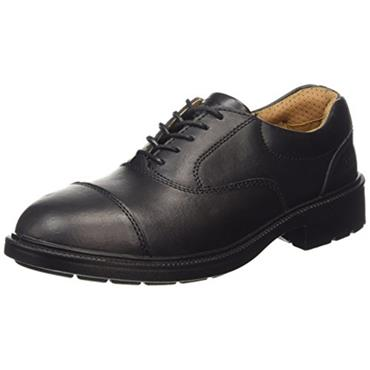 City Knights Black Oxford Executive Safety Shoe