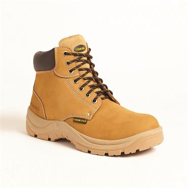 Sterling Steel Honey Nubuck Water Resistant Safety Boot