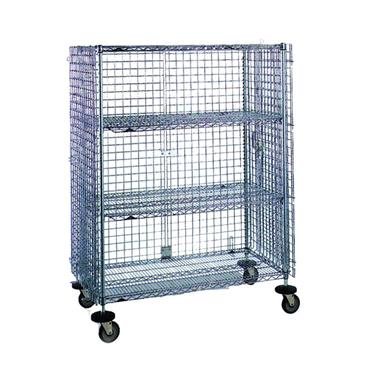 Chrome Wire Mobile Security Cages