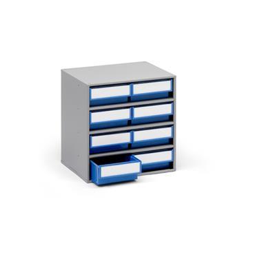 Treston Coloured Bin Cabinets, Series 300 8 Piece Cabinet