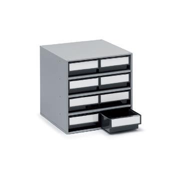 Treston Coloured Bin Cabinets,  Series 400 8 Piece Cabinet