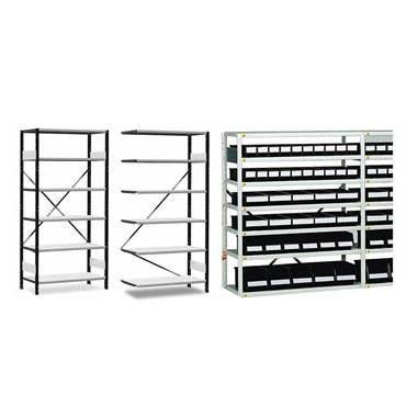 Treston, ESD Small Parts Shelving Unit