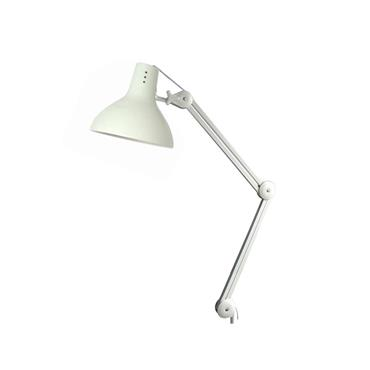 Bench Mounted Task Light with Aluminium shade