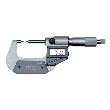 Vogel Electr. Digital Micrometer with small anvil measuring surfaces