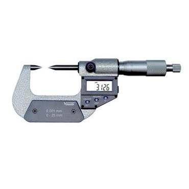 Vogel Electr. Digital Micrometer with 30° and 15° measuring tips