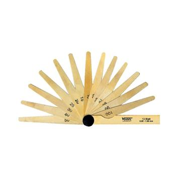 Vogel Feeler Gauge Set, made from brass