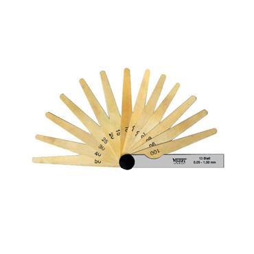 Vogel Feeler Gauge Set, made from brass