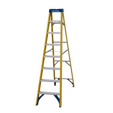 Werner 716 Fibreglass Trade Stepladder