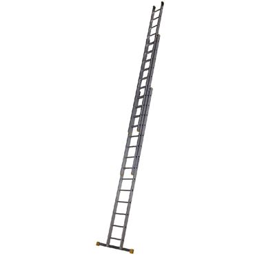 Werner 723 Box Section Extension Ladder - Triple