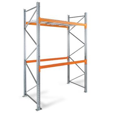 Heavy Duty Pallet Racking, 2 Shelf, 3000H x 1100D x 2700W mm