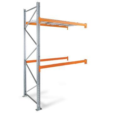 Heavy Duty Pallet Racking, 2 Shelf, 4500H x 1100D x 2700W mm