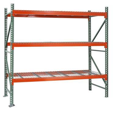 Heavy Duty Pallet Racking, 3 Shelf, 4000H x 1100D x 2700W mm