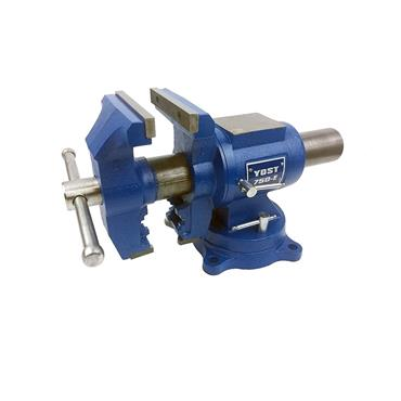 "Yost Vises 750-E, 5"" Medium Duty Rotating Vice"