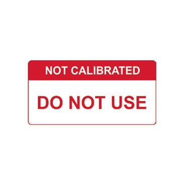 Quality Control Labels, Not Calibrated