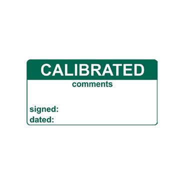 Quality Control Labels, Calibrated