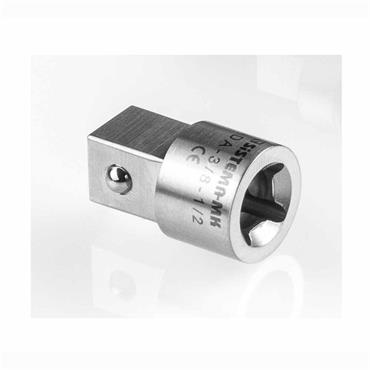 """Stainless Steel 1/2"""" to 3/8"""" Adaptor"""