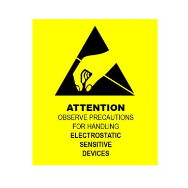 ESD Label Attention