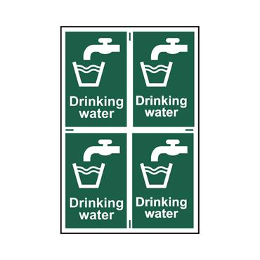 Safety Signs: Fire Safety & Safe Condition, Drinking Water