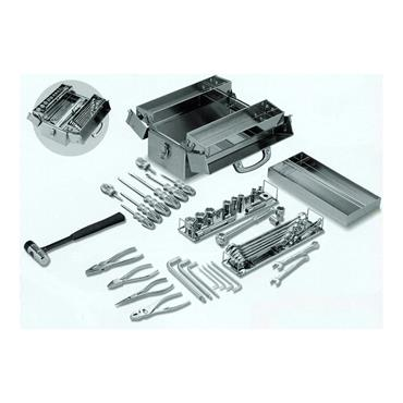 Stainless Steel Tool Set 44 Piece