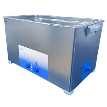 Clifton Range, SW30H 30 Litre Heated, Timed, Ultrasonic Baths, Drain Outlet