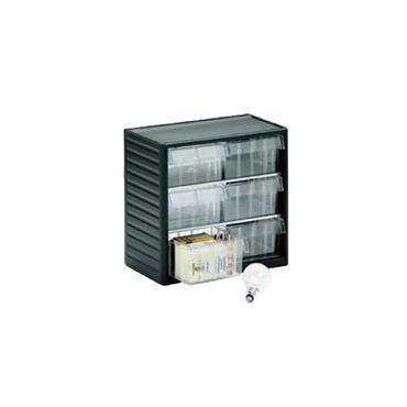 Treston Visible Storage Cabinets L-07, 6 Piece