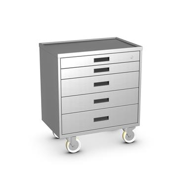 Stainless Tool Cart