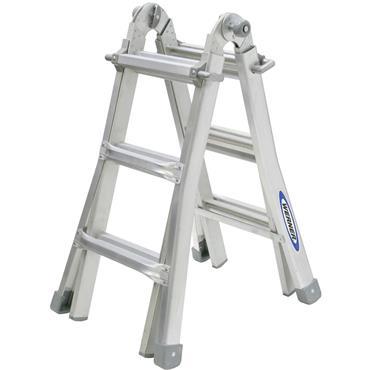 Werner 75053 Telescopic Combination Ladder 4 x 3