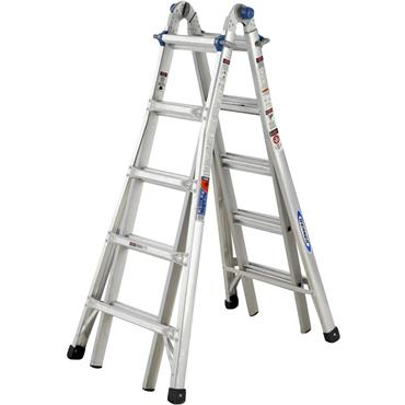 Werner 75055 Telescopic Combination Ladder 4 x 5