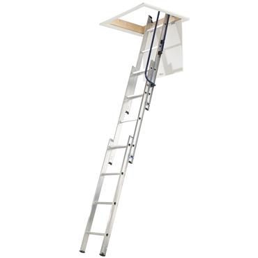 Werner 76013 Loft Ladder 3 Section Easy Stow