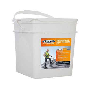 Werner 79203 Professional Roof Workers Fall Protection Kit