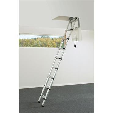 Werner 87302 Fixed Telesteps Loft Ladder