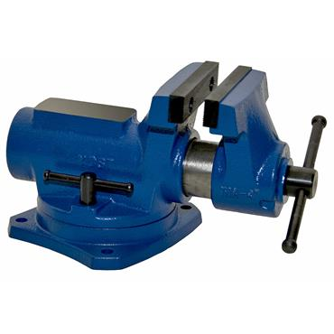 """Yost Vise 4"""" Compact Bench Vice with 360° Swivel Base"""