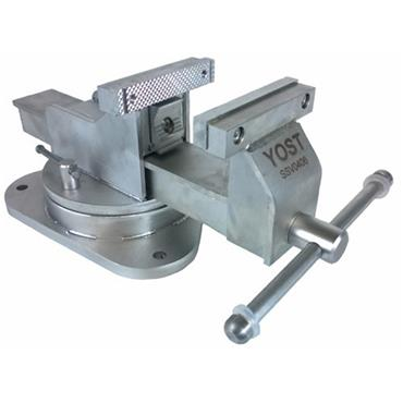 "Yost Vise 4"" Stainless Steel Combination Pipe & Bench Vice, Swivel Base"