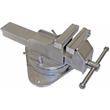 "Yost Vise 4"" Stainless Steel Bench Vice, Swivel Base"