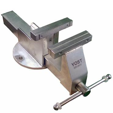 "Yost Vise 6"" Stainless Steel Bench Vice, Stationary Base"