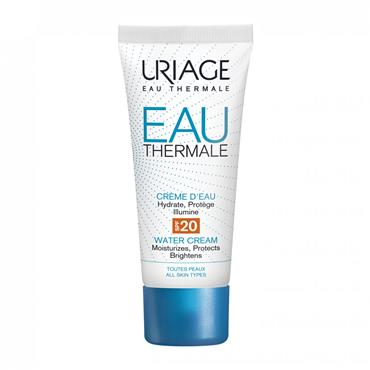 URIAGE EAU THERMALE LIGHT WATER CREAM SPF20 40ML