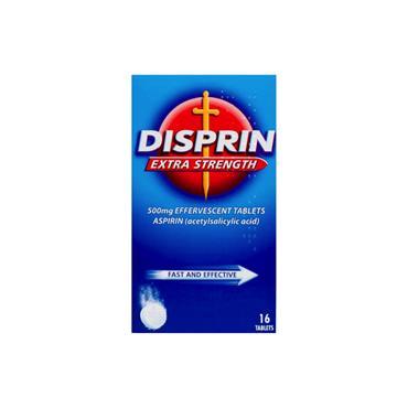 DISPRIN EXTRA STRENGTH TABLETS 16PK