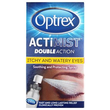 OPTREX ACTIMIST 10ML EYE SPRAY 2N1 ITCHY