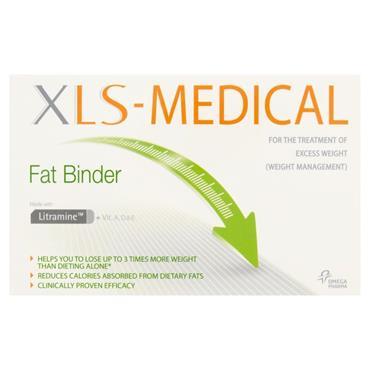 XLS MEDICAL DIRECT FAT BINDER SACHETS 30PK