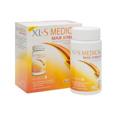 XLS MEDICAL MAX STRENGTH 120PK