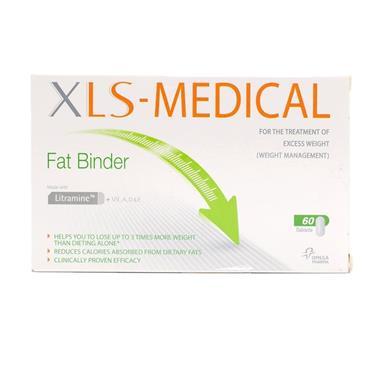 XLS MEDICAL FAT BINDER TABLETS 60PK
