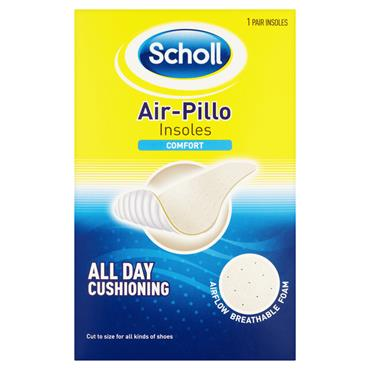 SCHOLL AIRPILLO COMFORT CUT TO SIZE INSOLES