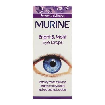 MURINE BRIGHT AND MOIST EYE DROP 15ml