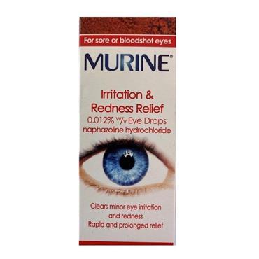 MURINE IRRITATION & REDNESS EYE DROPS 10ML