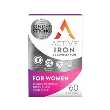 ACTIVE IRON FOR WOMEN + B COMPLEX 30PK